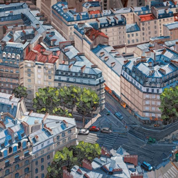 Ölbild Paris